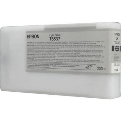 Картридж EPSON C13T653700 светло-чёрный