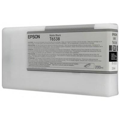 Картридж EPSON C13T653800 черный матовый