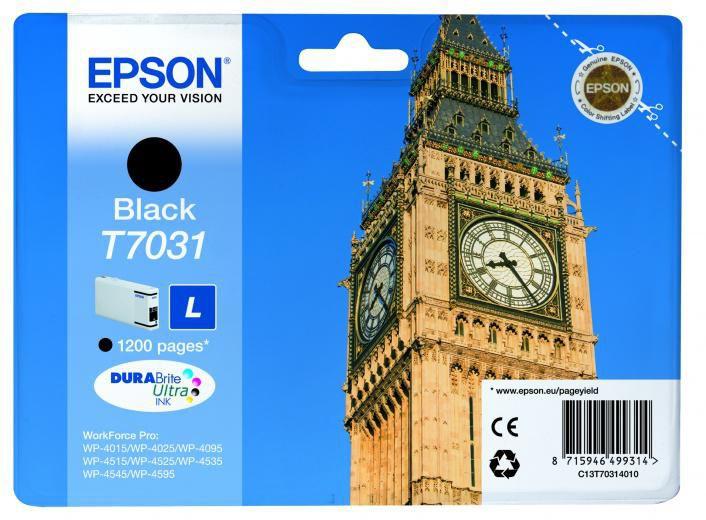 Картридж EPSON C13T70314010 черный