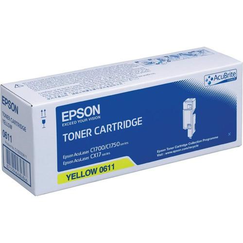Картридж EPSON C13S050611 желтый
