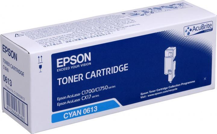 Картридж EPSON C13S050613 голубой
