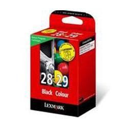 Набор картриджей LEXMARK 18C1520E многоцветный / черный
