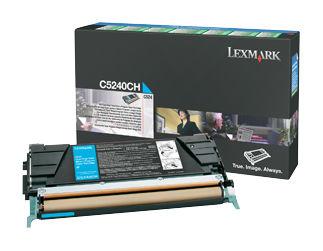 Картридж LEXMARK C5242CH голубой