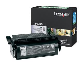 Картридж LEXMARK 12A5845 черный