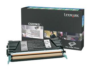 Картридж LEXMARK C5222KS черный