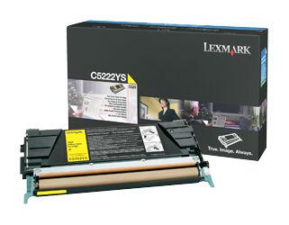 Картридж LEXMARK C5222YS желтый