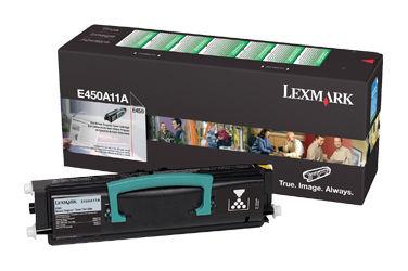 Картридж LEXMARK E450A11E черный