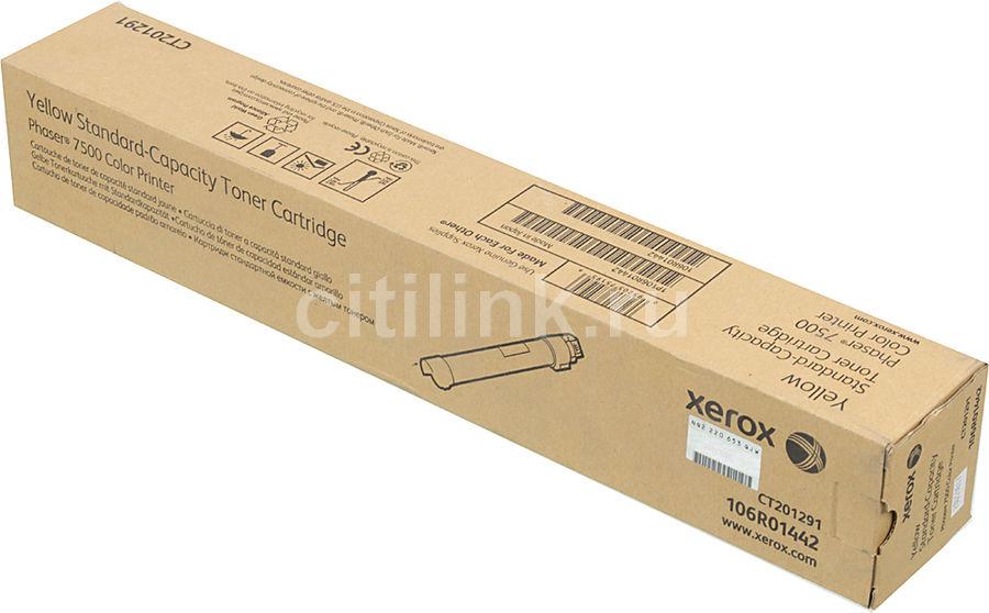 Картридж XEROX 106R01442 желтый