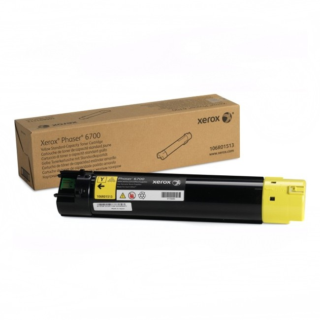 Картридж XEROX 106R01513 желтый