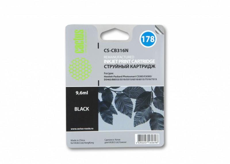 Картридж CACTUS CS-CB316N(CS-CB316) черный