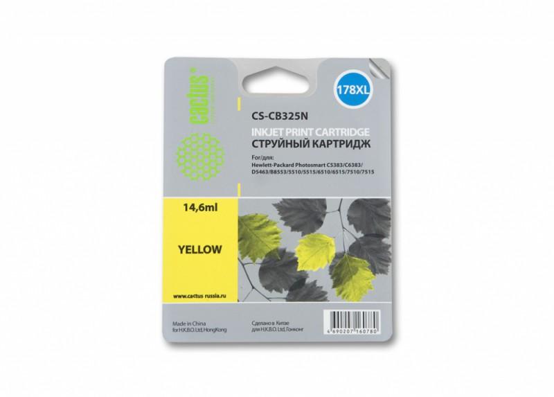 Картридж CACTUS CS-CB325N(CS-CB325) желтый