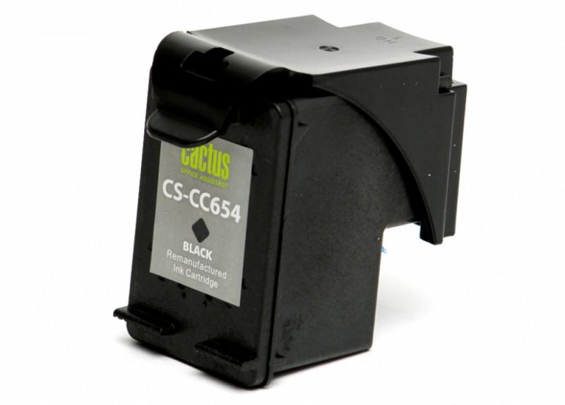 Картридж CACTUS CS-CC654 черный