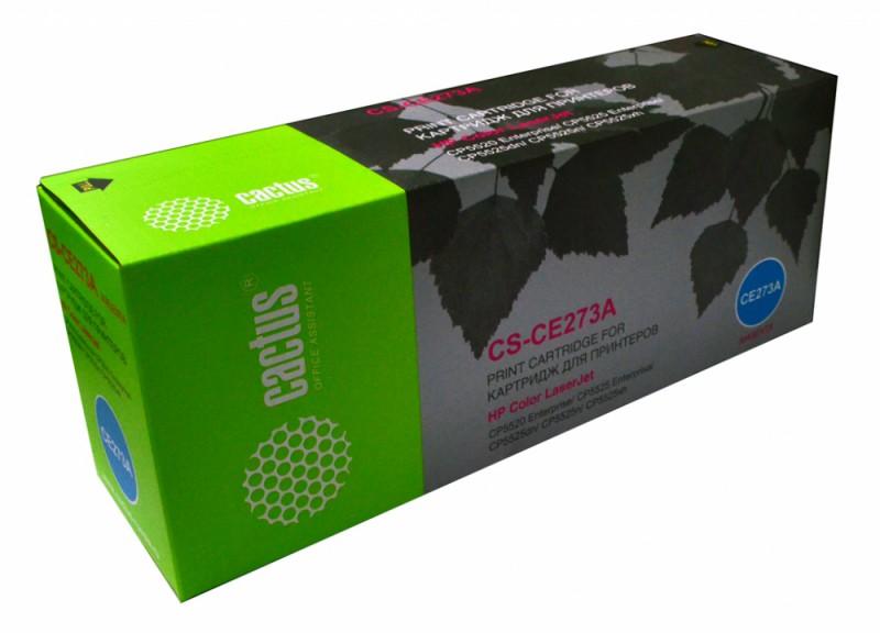 Картридж CACTUS CS-CE273A пурпурный