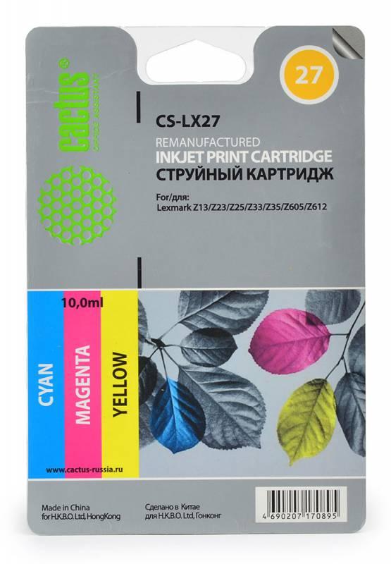 Картридж CACTUS CS-LX27 многоцветный