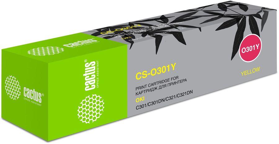 Картридж CACTUS CS-O301Y желтый
