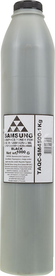 Тонер AQC для ML-1210/1250/2015/4200/4500,  черный, 1000грамм, флакон