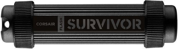 Флешка USB CORSAIR Survivor Stealth 128Гб, USB3.0, черный [cmfss3-128gb/cmfss3b-128gb] флешка usb corsair survivor stealth 32гб usb3 0 черный [cmfss3b 32gb]
