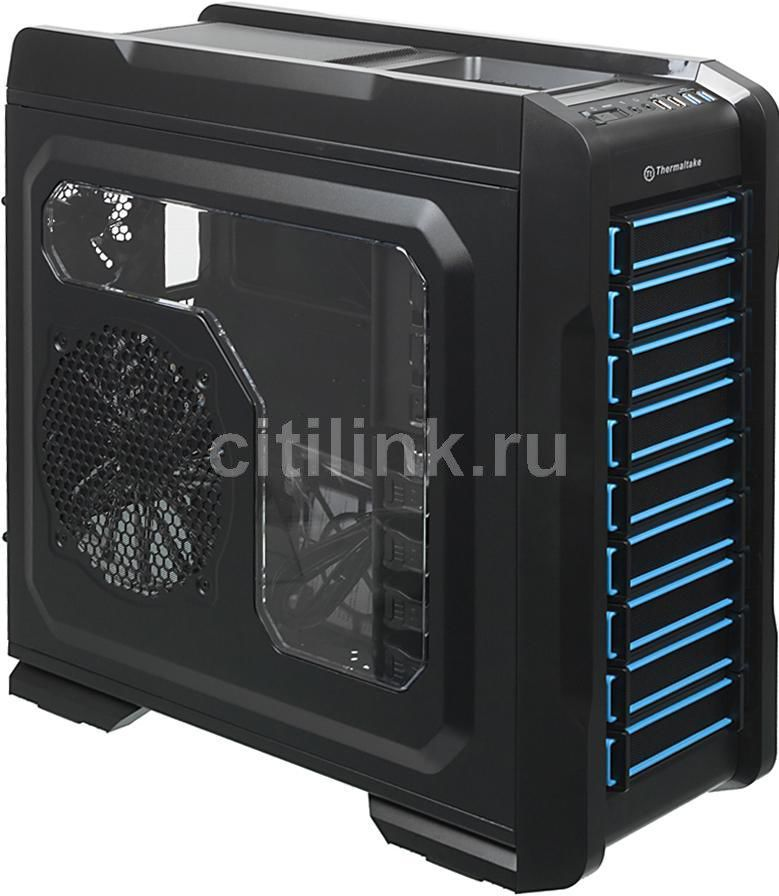 Корпус ATX THERMALTAKE Chaser A71, Full-Tower, без БП,  черный