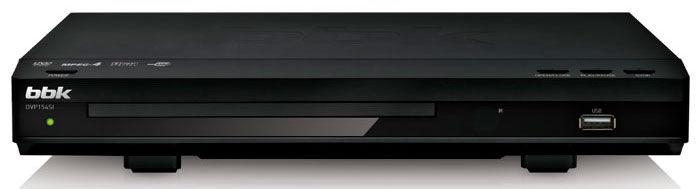 DVD-плеер BBK DVP154SI,  черный