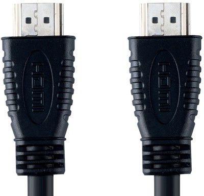 Кабель аудио-видео BANDRIDGE VVL1202-S,  HDMI (m)  -  HDMI (m) ,  2м, черный