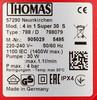 Моющий пылесос THOMAS Super 30S, 1400Вт, красный/черный вид 8