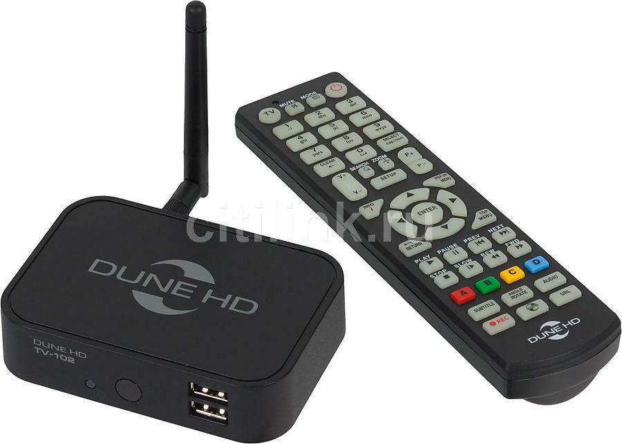 Медиаплеер DUNE Dune TV-102W-C,  черный