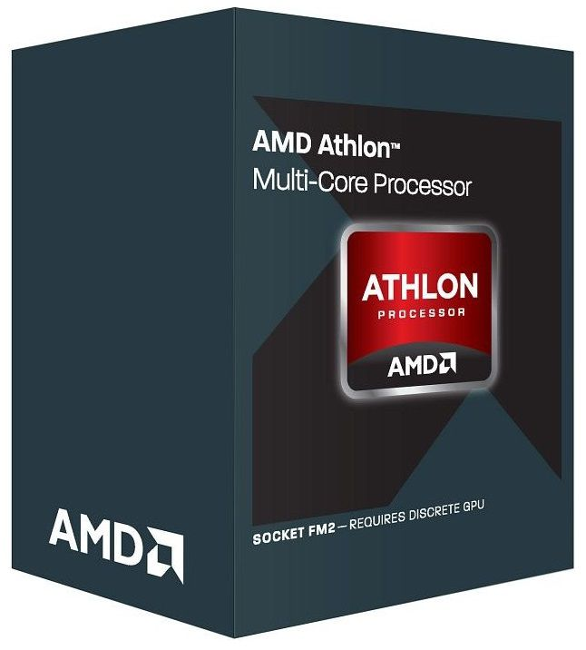 Процессор AMD Athlon II 370K, SocketFM2 BOX [ad370kokhlbox]