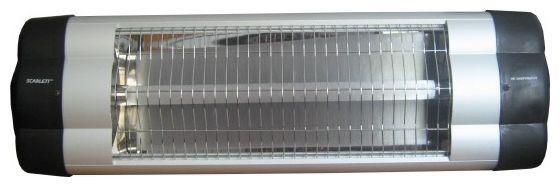 Инфракрасный обогреватель SCARLETT SC-254, 2300Вт, серебристый