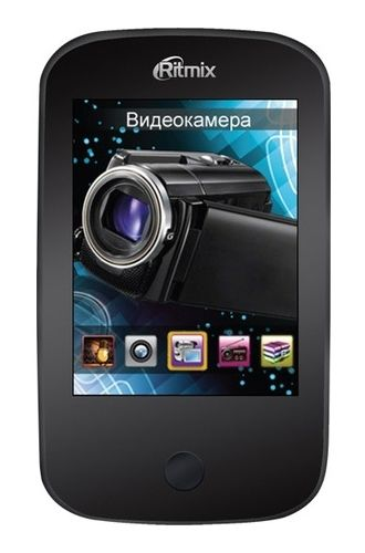 MP3 плеер RITMIX RF-7200 flash 8Гб черный [15116263]