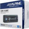 Автомагнитола ALPINE CDE-133BT,  USB вид 8