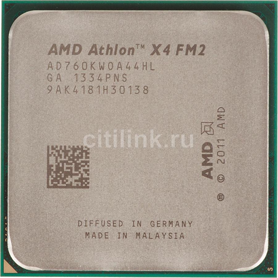 Процессор AMD Athlon X4 760K, SocketFM2,  OEM [ad760kwoa44hl]