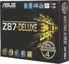 Материнская плата ASUS Z87-DELUXE LGA 1150, ATX, Ret вид 7