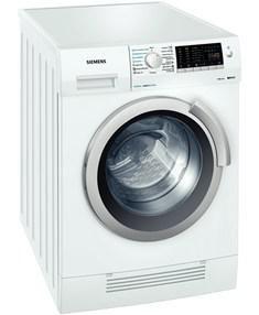 Стиральная машина SIEMENS WD14H441OE, фронтальная загрузка,  белый