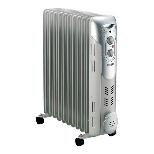 Масляный радиатор MYSTERY MH-1101, 2400Вт, серый