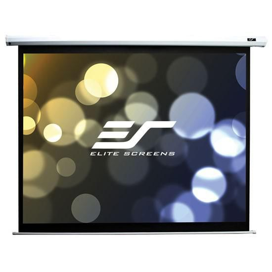 Экран ELITE SCREENS Spectrum Electric84V,  196х128 см, 4:3,  настенно-потолочный