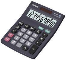 Калькулятор CASIO MS-10S,  10-разрядный, черный