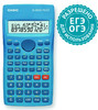 Калькулятор CASIO FX-82SX Plus,  10+2-разрядный, синий вид 1
