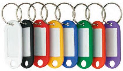 Брелок для ключей Alco 1851-13 инфо-окно желтый