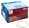 Резинки для купюр Alco 755 d=130мм 4мм 500гр красный картонная коробка вид 2