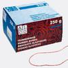 Резинки для купюр Alco 793 d=65мм 250гр красный картонная коробка вид 2