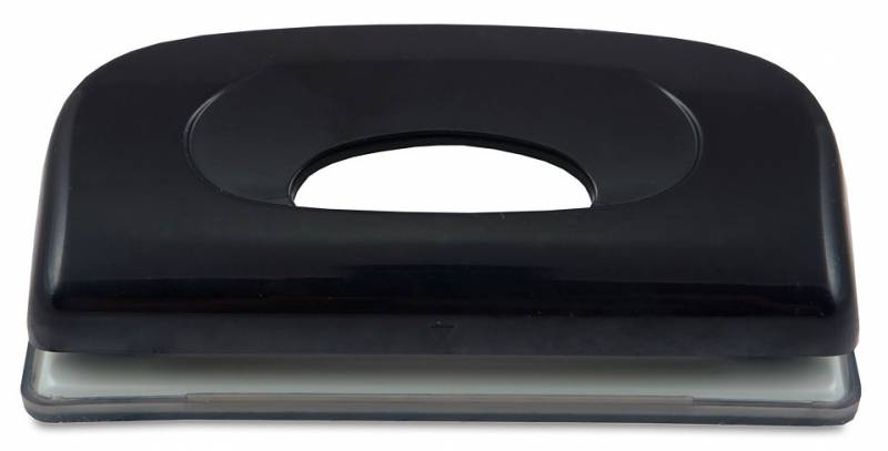 Дырокол Kw-Trio Dolphin mini 090X9BLACK макс.:6лист. пластик черный