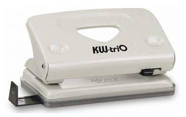 Дырокол Kw-Trio Classic Mini 941GR макс.:10лист. металл серый отв.:2 с линейкой