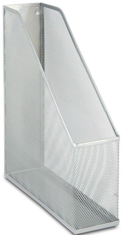 Лоток Бюрократ BLD01-179-1 сетчатый металлический вертикальный серебристый 25х7.2х31.5см