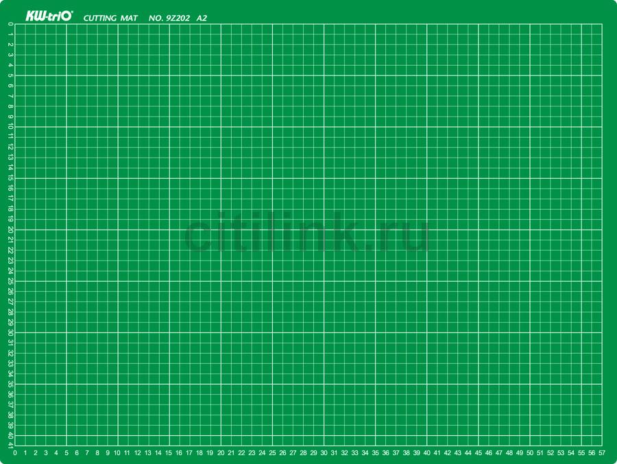 Подкладка для резки Kw-Trio 9Z202 A2 600x450мм зеленый
