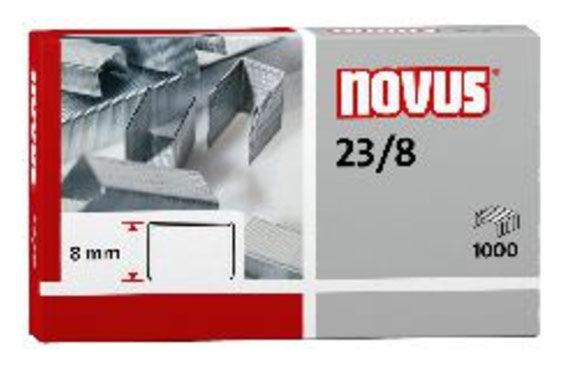Скобы для степлера NOVUS 042-0040,  23/8,  картонная коробка