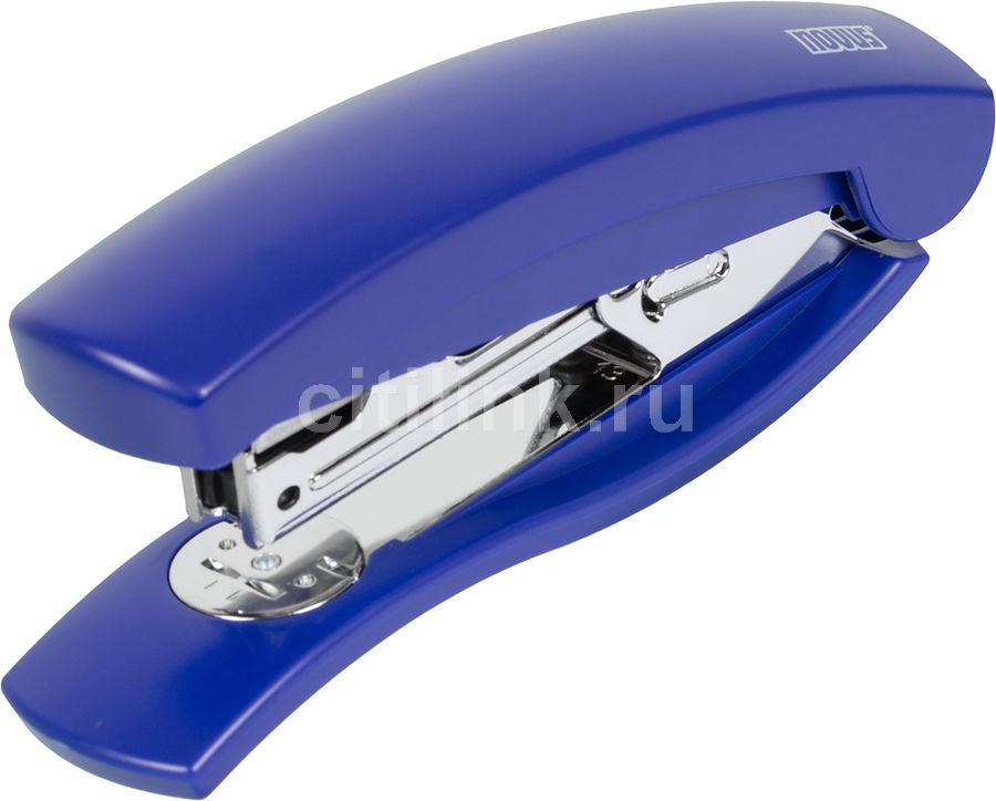 Степлер Novus 020-1474 С2 City-Line до 25 листов синий скобы 24/6 26/6