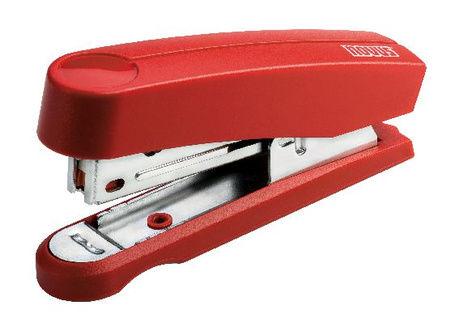 Степлер Novus 020-1715 В10 Professional Harmony офисный на 10 листов красный скобы №10