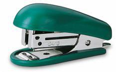 Степлер Kw-Trio 5103grn Mini N10 (10листов) встроенный антистеплер зеленый 50скоб металл/пластик бли