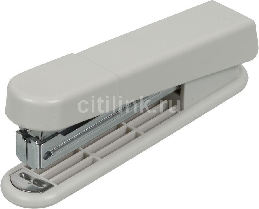 Степлер Kw-Trio 5220GR N10 (10листов) светло-серый 100скоб металл/пластик