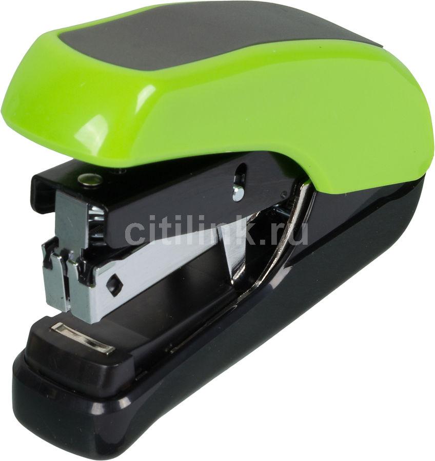 Степлер Kw-Trio 5385GREEN Lever-Tech Mini N10 (20листов) встроенный антистеплер снижение усилия плос